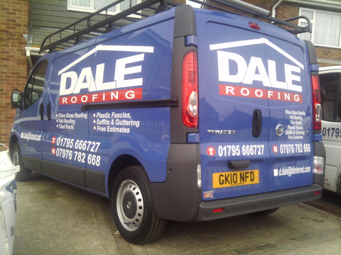 Warden Bay Vehicle Graphics. Fitted van and car signs free design good prices by www.1st4signs.com