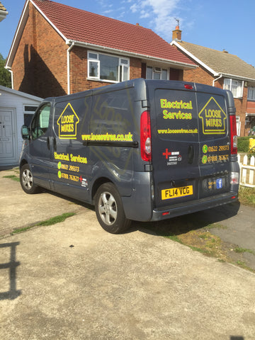 Hartlip Vehicle Graphics. Fitted van and car signs free design good prices by www.1st4signs.com