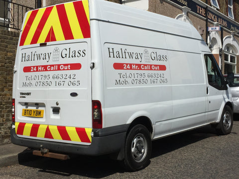 Brompton Vehicle Graphics. Fitted van and car signs free design good prices by www.1st4signs.com