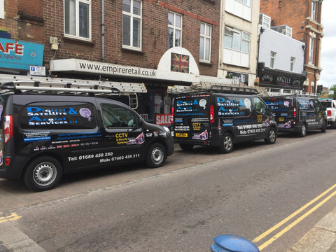 Aylesford Vehicle Graphics. Fitted van and car signs free design good prices by www.1st4signs.com