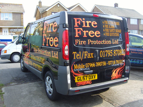 Murston Vehicle Graphics. Fitted van and car signs free design good prices by www.1st4signs.com