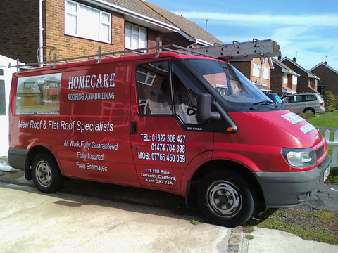 Kemsley Vehicle Graphics. Fitted van and car signs free design good prices by www.1st4signs.com