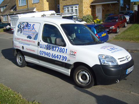 Milton Regis Vehicle Graphics. Fitted van and car signs free design good prices by www.1st4signs.com