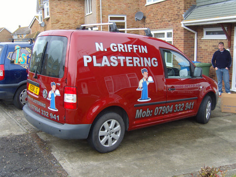 Yelsted Vehicle Graphics. Fitted van and car signs free design good prices by www.1st4signs.com