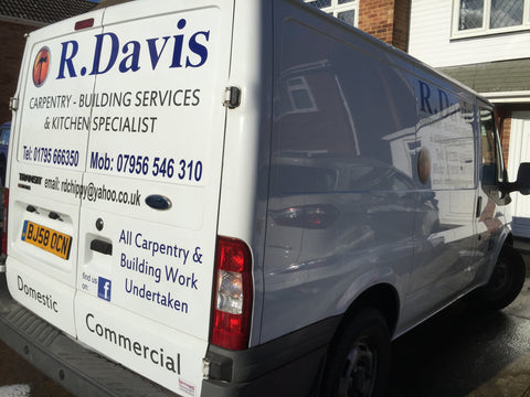 Wateringbury Vehicle Graphics. Fitted van and car signs free design good prices by www.1st4signs.com