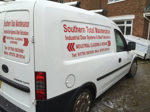 East Malling Vehicle Graphics. Fitted van and car signs free design good prices by www.1st4signs.com