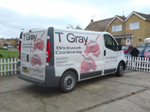 Bredhurst Vehicle Graphics. Fitted van and car signs free design good prices by www.1st4signs.com