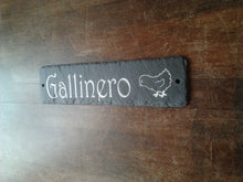 Cornish, Welsh, Spanish slate house signs