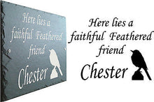 1st 4 Signs - Rustic Slate memorial plaques - Commemorative Pet Grave Marker