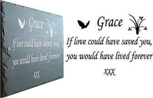 Customisable Live Preview - Memorials, Grave Markers, Crosses, Urns, Plaques, Signs, House Signs, Vehicle Signs, Banners