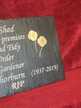 Memorial plaques for people