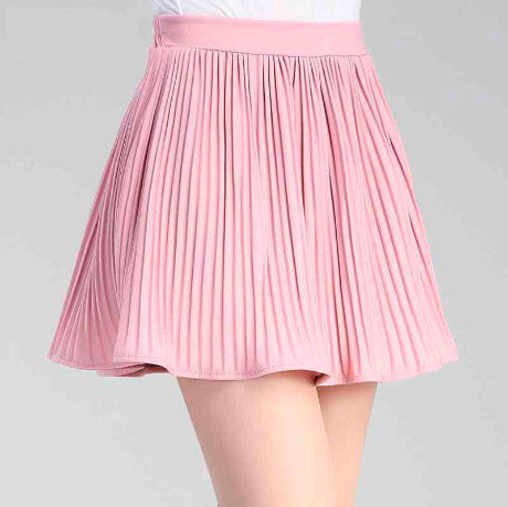MINI SKIRT WITH SHORTS PLESSE