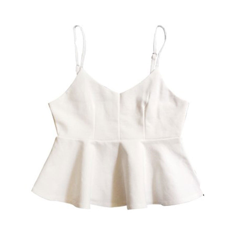 BASQUE ELEGANT CROP TOP