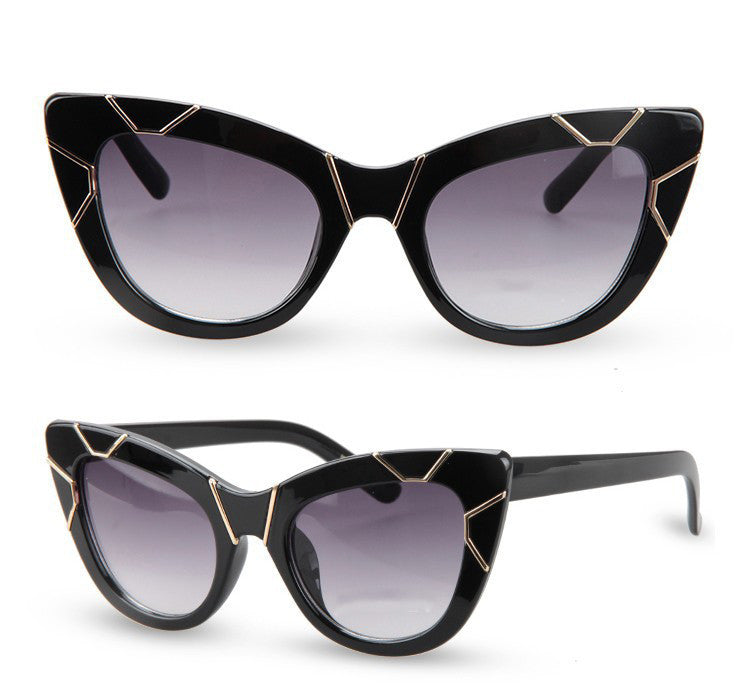 CAT EYE GRADIENT LENS GLASSES