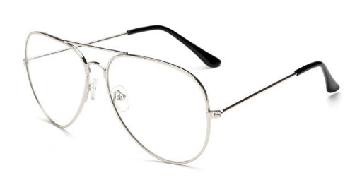 CLASSIC PILOT CLEAR GLASSES