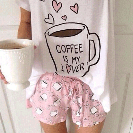 COFFEE IS MY LOVER PAJAMA
