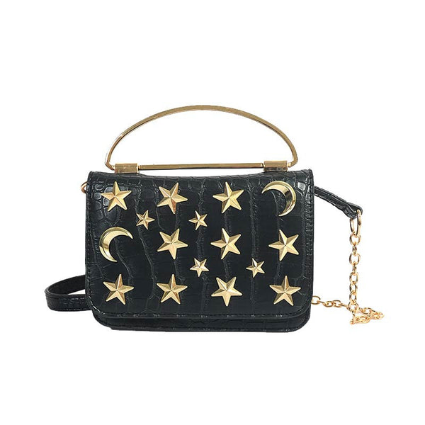 FASHION 2017 BAG STARS LEATHER PU
