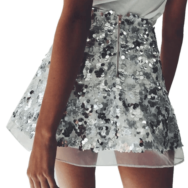 FASHION SKIRT SEQUINS