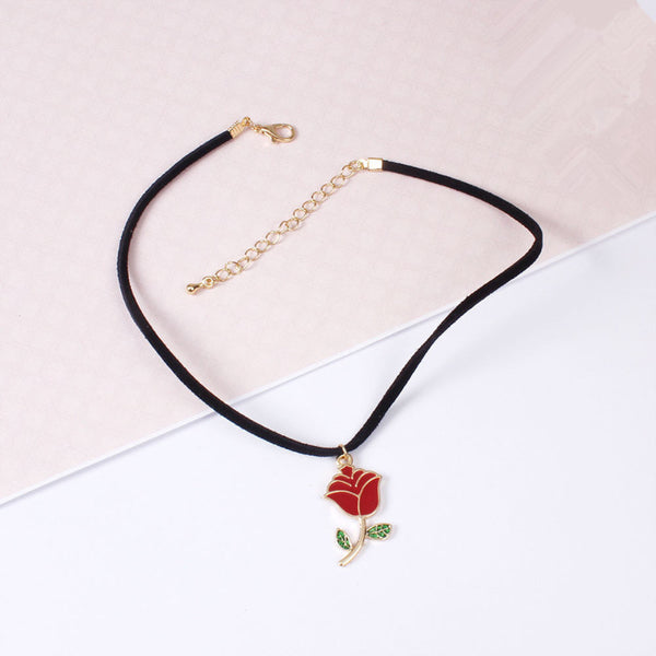 FASHION ROSE NECKLACE
