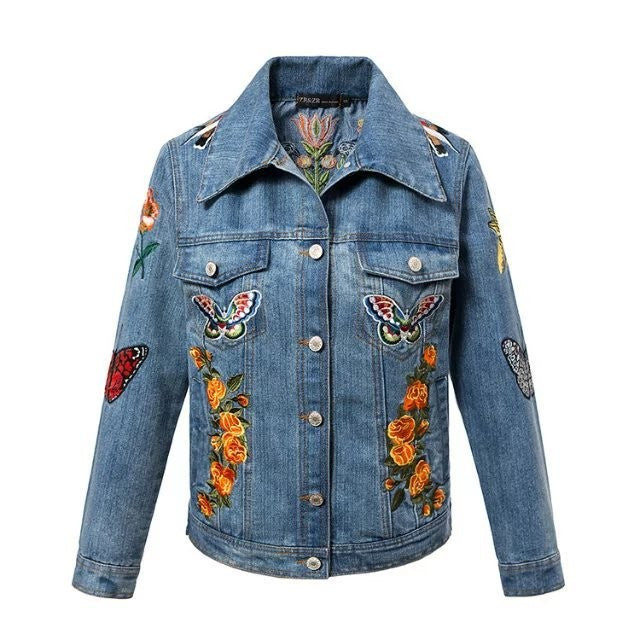 JEANS JACKET EMBROIDERY