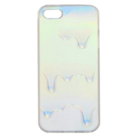 OPALESCENT OIL HOLOGRAPHIC IPHONE CASE