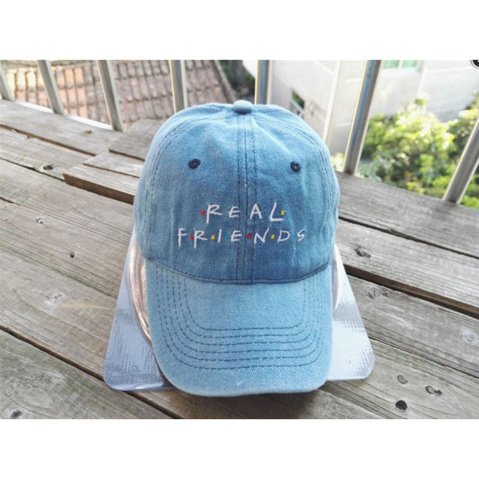 REAL FRIENDS SERIES EMBROIDERY CAP