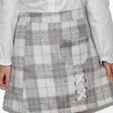 SKIRT AUTUMN WINTER WOOL