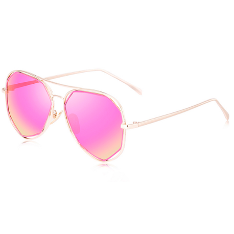GRADIENT MIRROR POLARIZED SUNGLASSES