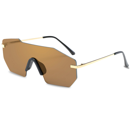 GRADIENT POLYGON SUNGLASSES