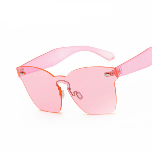 SUNGLASSES TRANSPARENT COLOR
