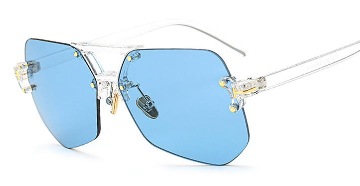 COLOR TRANSPARENT SUNGLASSES