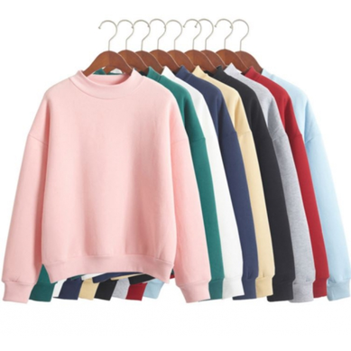 THICKENING WARM TURTLENECK SWEATSHIRT
