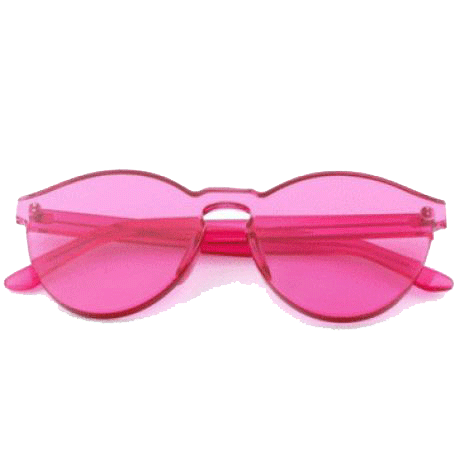 TRANSPARENT COLOR SUNGLASSES