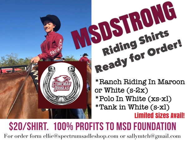 MSDStrong Riding Shirts!