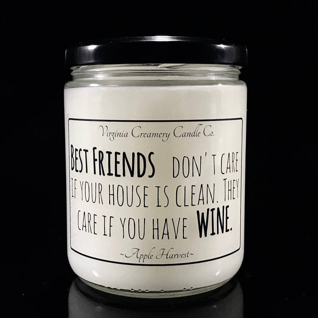 Virginia Creamery Candle Co.  Best Friends And .... 16oz Jar