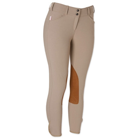 Tailored Sportsman Trophy Hunter Low Rise Front Zip Breech Tan