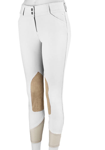 R.J. Classics Ladies White Gulf Low Rise Front Zip Breeches