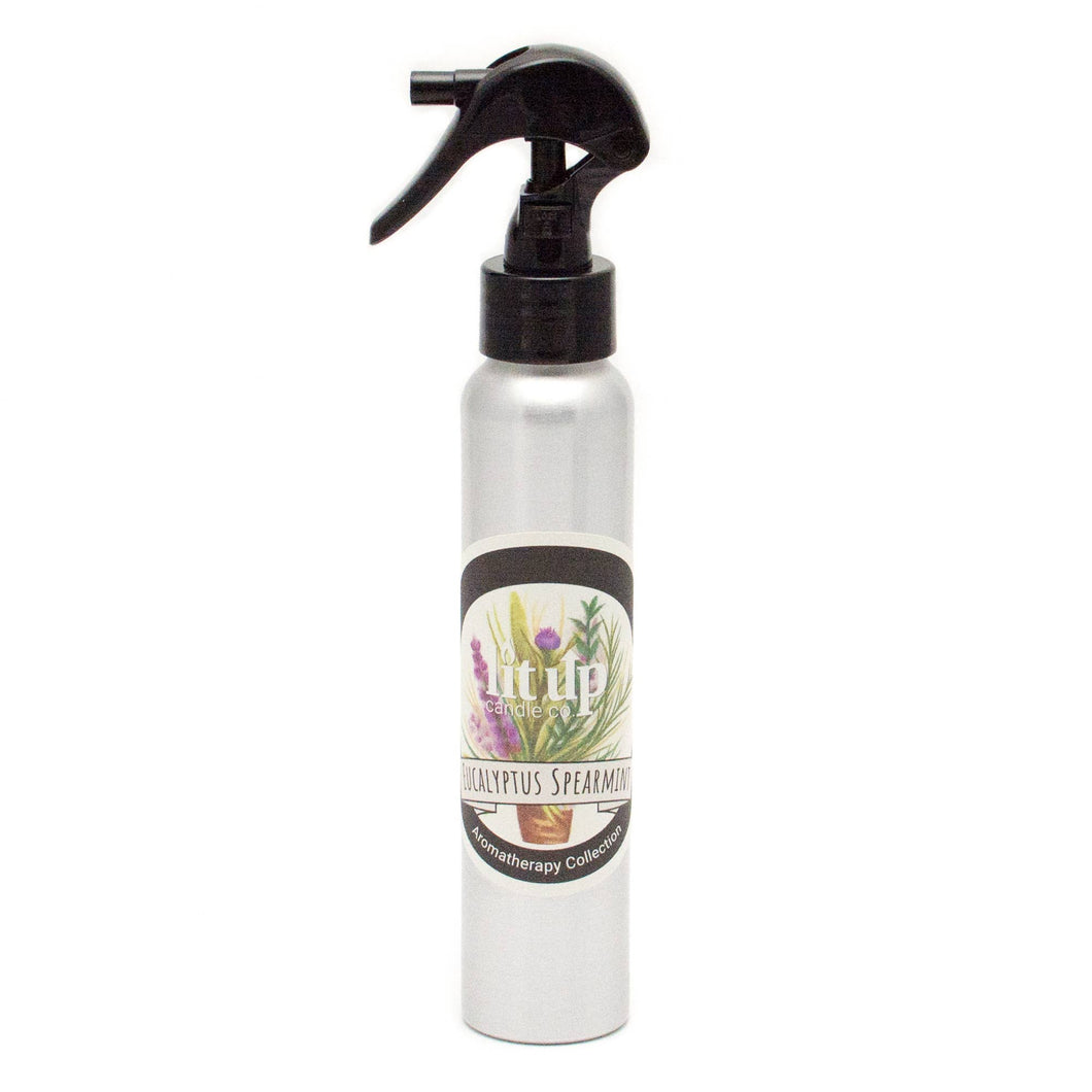 Lit Up Candle Co. - 4 oz Eucalyptus Spearmint Room Spray