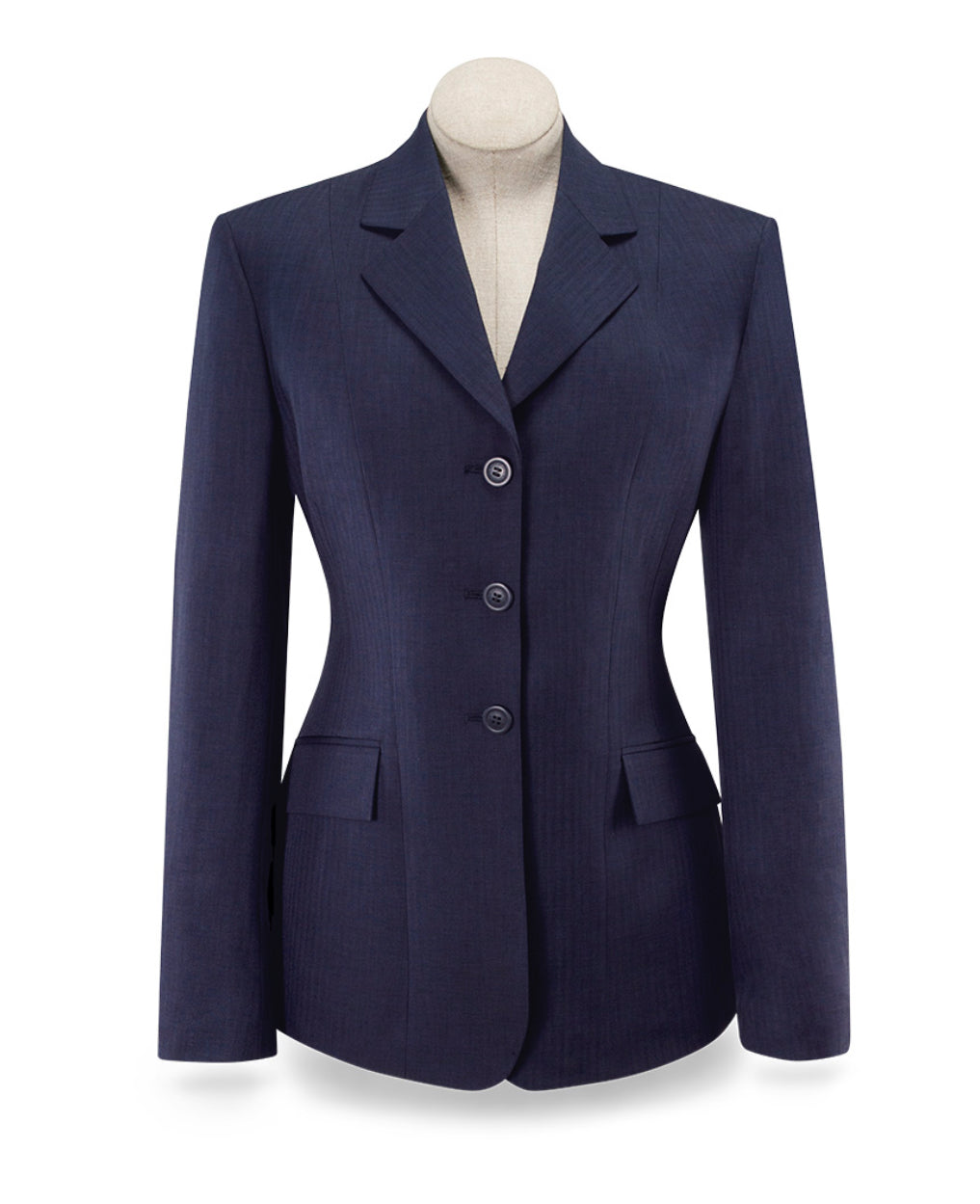 RJ Classics Devon Show Coat - Navy Blue