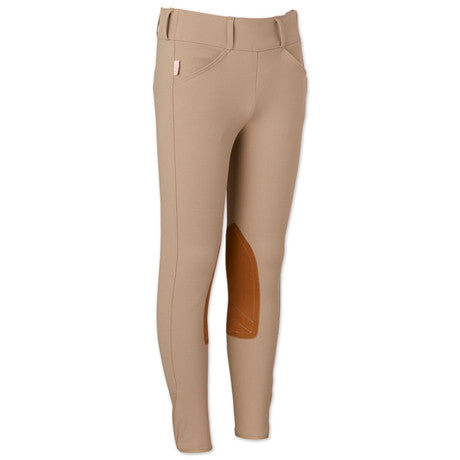 The Tailored Sportsman™ Girls Trophy Hunter Side Zip Low Rise Breeches