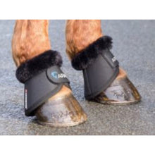 Shires Arma Fleece Trimmed Over Reach / Bell Boots No Turn