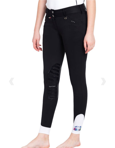 Equine Couture Black Fiona Breeches