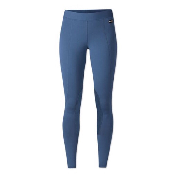 Kerrits Kids Performance Tights in Lupine Blue