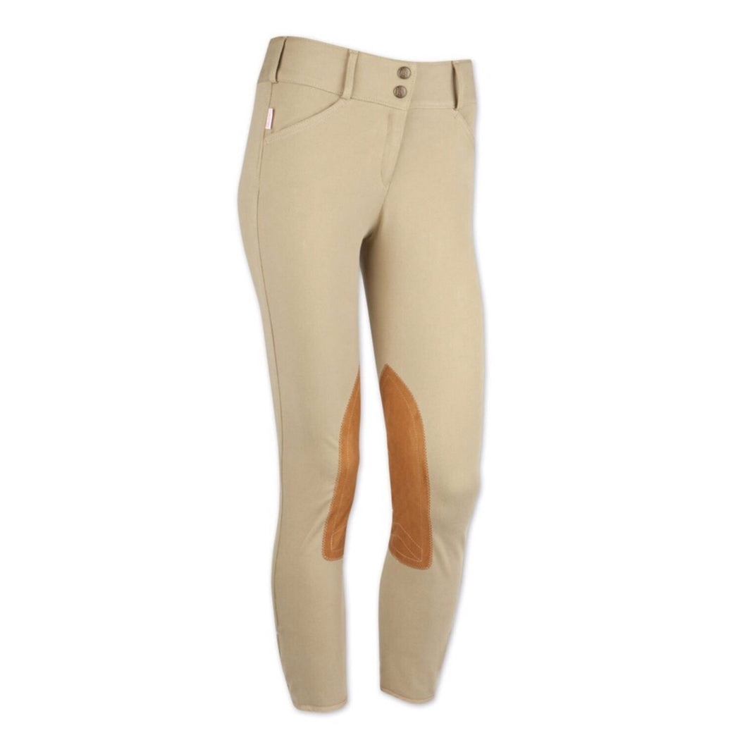 The Tailored Sportsman Girls Trophy Hunter Front Zip Breeches