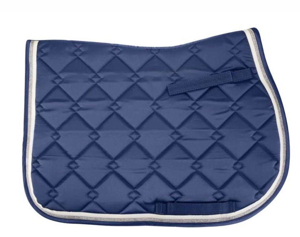 Equine Couture Satin Saddle Pad