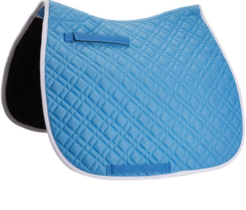 Union Hill Dressage Pad Sky Blue