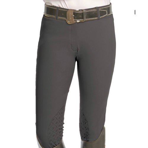 Ovation Bellissima Full Seat Breeches Black, White and Gray