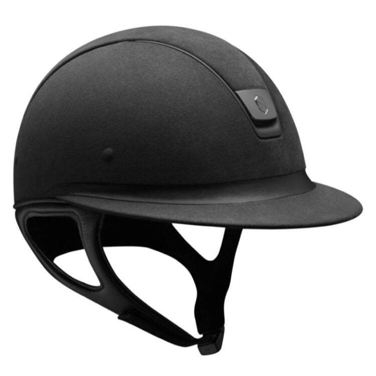 Samshield Miss Shield Premium Helmet Black Alcantra Top