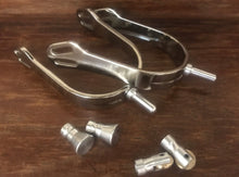 Korsteel Interchangeable Aluminum Spurs