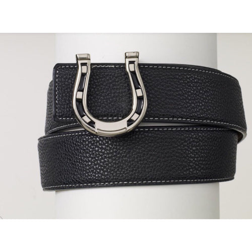 Ovation Horseshoe Belt - Black